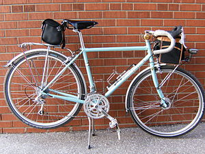Touring bicycle - A light touring bicycle