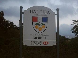 Lija - Entering Lija