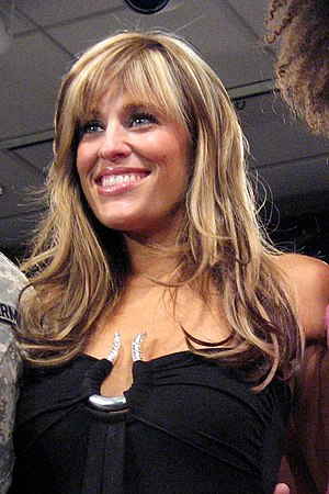 WWE ring announcer Lilian Garcia at a news con...