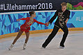 Lillehammer 2016 - Figure Skating Pairs Short Program - Ekaterina Borisova and Dmitry Sopot 1.jpg
