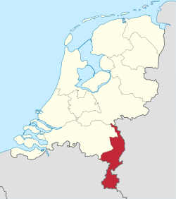 Limburg in the Netherlands.svg