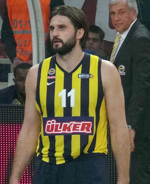 Linas Kleiza - Kleiza with Fenerbahçe Ülker in 2013.