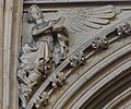 Lincoln Cathedral, Angel pointing to a book. (s.3) (32224165706).jpg