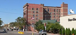 Lincoln Hotel (Scottsbluff, Nebraska) from SW 4.JPG