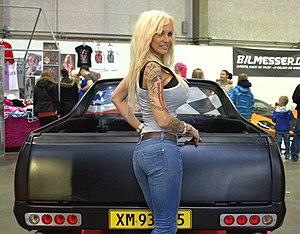 Linse Kessler - Image: Linse Kessler at carshow.2012