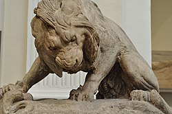 Antoine-Louis Barye: Lion with a Snake