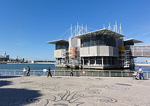 Expo '98 - Oceans Pavilion, now the Lisbon Oceanarium