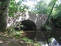 Little Dart River passing under the bridge - Chawleigh August 2011 - panoramio.jpg