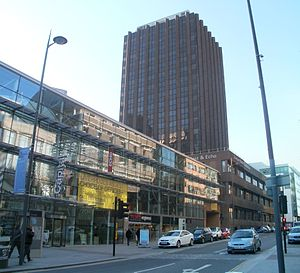 Post & Echo Building - Image: Liverpool Echo building 13 March 2013 004 stitch