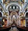 Ljubljana Kathedrale St. Nikolaus Innen 03.JPG