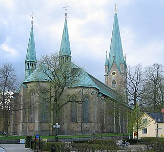 Linköping Cathedral Church in Linköping, Sweden