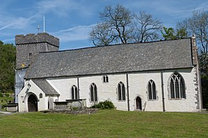 Cadoc - The parish church of St Cadoc, Llancarfan