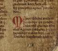 Llyfr Gwyn Rhydderch f. 45 r. Beginning of Macsen Wledig.png