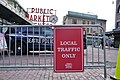 Local traffic only sign at Pike Place Market during COVID-19 pandemic.jpg