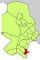 Localització de Portopí respecte del Districte de Ponent.png