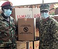 Locally-sourced protective masks donated to South Africa (49829995822).jpg