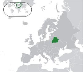 벨라루스의 위치