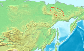 Location Chersky Range.PNG