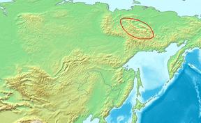 Location Chersky Range.PNG