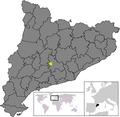 Location of Argençola.png