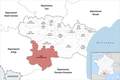 Locator map of Kanton La Haute-Vallée de l'Aude 2019.png