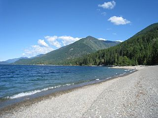 Lockhart Beach Provincial Park provincial park Located 40 km north of Creston, British Columbia, Canada