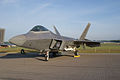 Lockheed-Martin F-22A-30-LM Raptor 05 107 LFront Dawn SNF 04April2014 (14584521874).jpg
