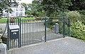 Loenen aan de Vecht - Nieuwerhoek toegangshek RM398076.JPG