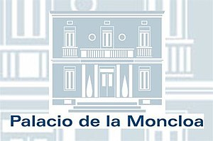 Spokesperson of the Government of Spain - Image: Logo del Palacio de la Moncloa