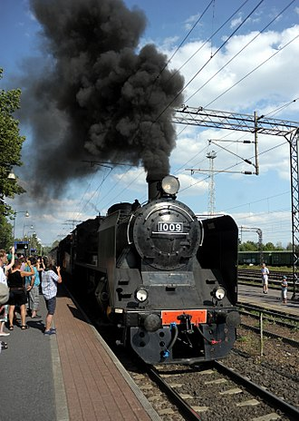 Lappeenranta - Steam Locomotive VR Class Hr1 1009 at Lappeenranta