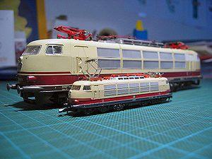 Lokomotiven BR103 H0 Z 01