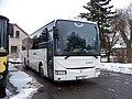 Lomnice nad Popelkou, autobusové nádraží, Crossway Arriva VČ.jpg