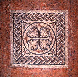 Londinium - A Roman mosaic floor from Londinium (British Museum)