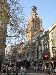 St Martins Lane Street in the City of Westminster, London
