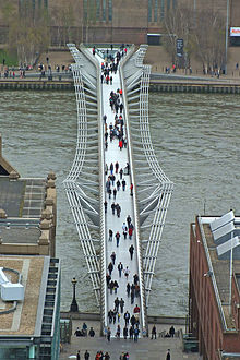 London Millennium Bridge from Saint Paul's.jpg