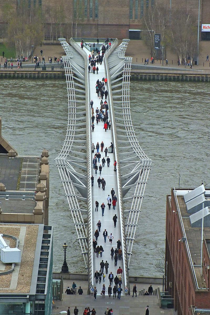 London Millennium Bridge from Saint Paul's.jpg