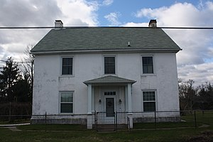 New Hanover Township, Montgomery County, Pennsylvania - Long Meadow Farmhouse, a historic site in the township