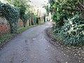 Looking SW along lane leading from Church Farm - geograph.org.uk - 328205.jpg