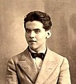 García Lorca as a teenager