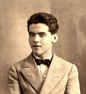 Español: Federico García Lorca en 1914. Foto a...