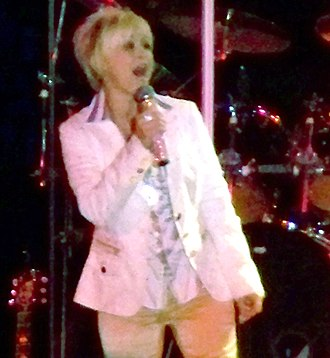 Lorrie Morgan - Morgan in concert in Choctaw, Mississippi on December 6, 2008
