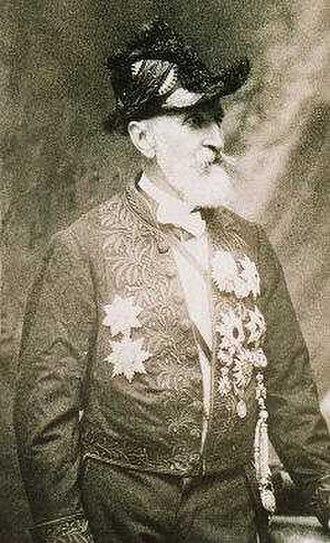 Louis-Émile Bertin - Louis-Émile Bertin in Institut de France uniform, post 1903