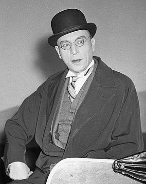 Louis Jouvet - Louis Jouvet in The School for Wives in 1950