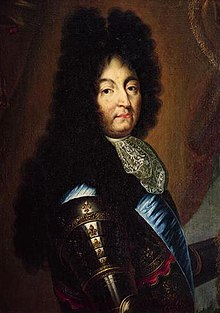 Portrait of Louis XIV aged 63