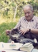 Lubarsky Jacob near his country house 1990s(2).jpg