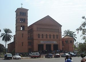 Lubumbashi cathedral S Pierre et Paul