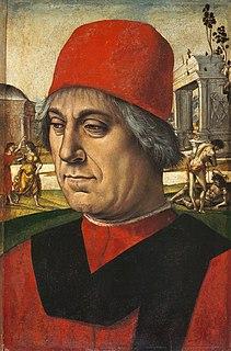 portrait by the Italian Renaissance painter Luca Signorelli