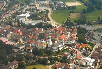 Stockach - Image: Luftbild Stockach