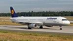 Lufthansa Airbus A321-100 (D-AIRN) at Frankfurt Airport.jpg