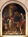 Luigi garzi, san silvestro mostra a costantino l'effige dei ss. pietro e paolo, 1675.jpg